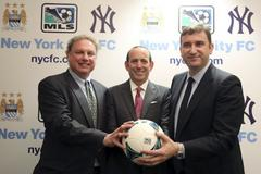 Manchester City open the New York City Football Club franchise