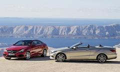 mercedes e-class coupe, cabriolet uk pricing announced