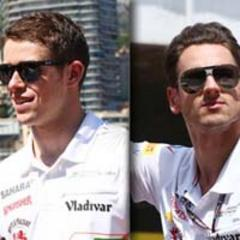 Di Resta shining, Sutil sees the silver lining