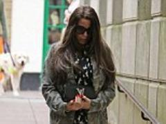 pregnant katie price looks miserable on her 35th as she steps out in dressed down outfit