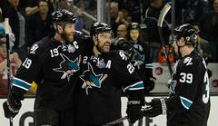 San Jose Sharks Beat Los Angeles Kings To Even Series