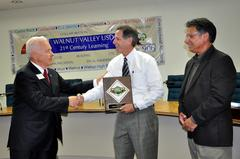 Retirement Reception Held for Superintendent Dean Conklin