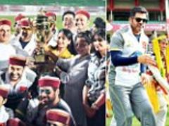 Bollywood beats parliament as celebs triumph over politicians in cricket friendly