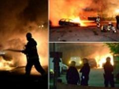Sweden riots: Stockholm burns as rioters battle police after three days of violence in immigrant 'ghetto'