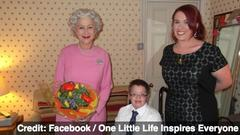 Helen Mirren Meets With Ill Boy as Queen Elizabeth II