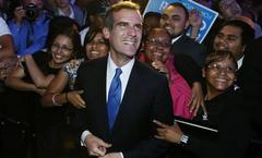 Los Angeles elects first Jewish mayor