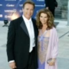 arnold schwarzenegger, maria shriver put divorce on hold